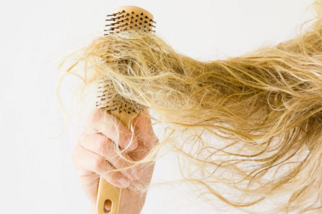 damaged hair
